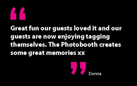 Donna testimonial