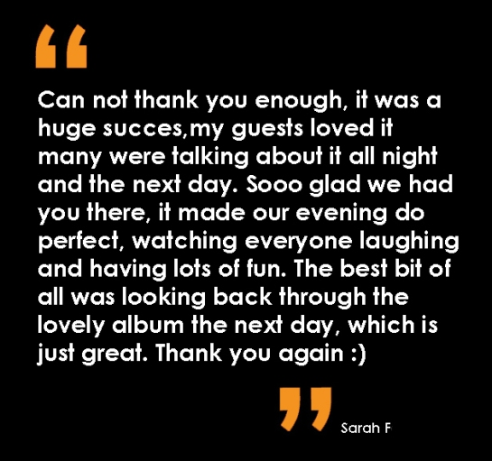 Sarah testimonial